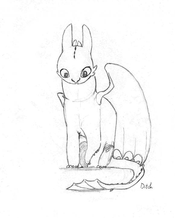 Comment dessiner krokmou - Dessiner des dragons ...